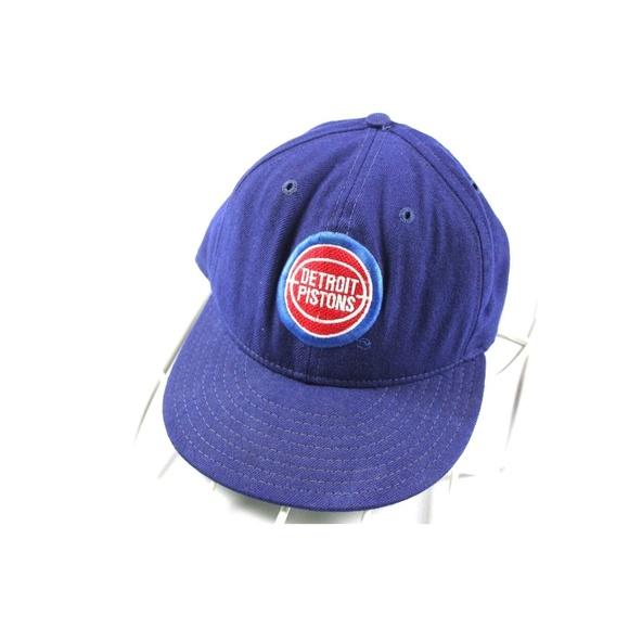 7cb969aabfb Vintage 90s Era Pro Detroit Basketball 7 1 8 Blue